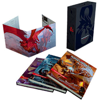 Dungeons and Dragons 5E: Core Rulebook Gift Set