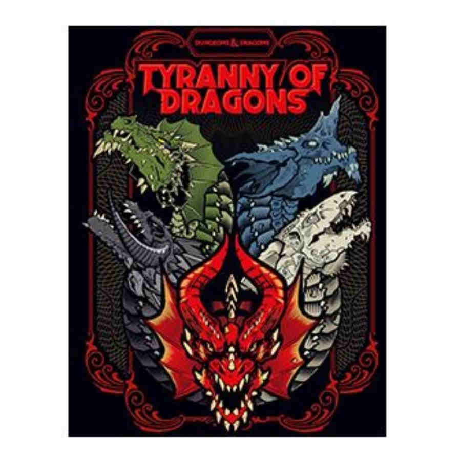 Dungeons & Dragons - Tyranny of Dragons - Alternate Art Hardcover (D&D Adventure)