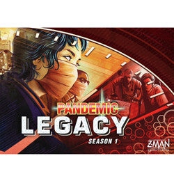 Pandemic: Legacy Season 1 (Red Box) - Boardlandia