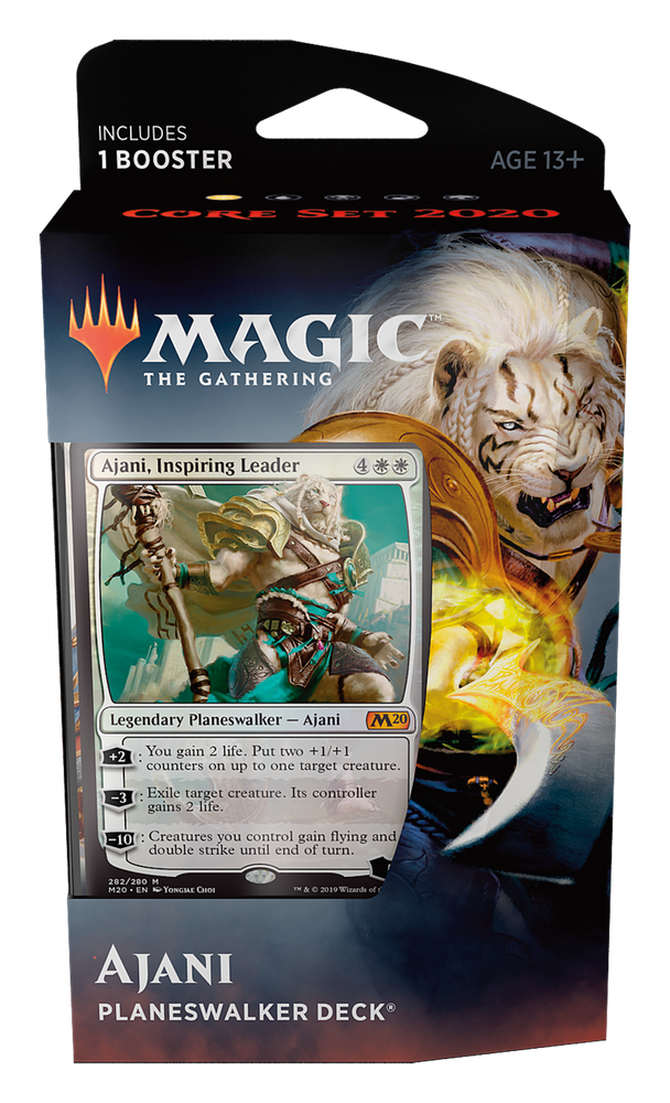Magic the Gathering: Core 2020 Ajani Planeswalker Deck