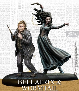 Harry Potter Miniatures Adventure Game - Bellatrix & Wormtail