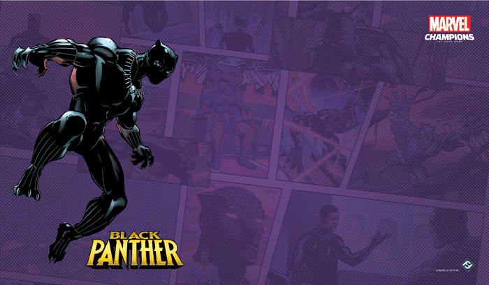 Marvel Champions LCG - Black Panther Game Mat