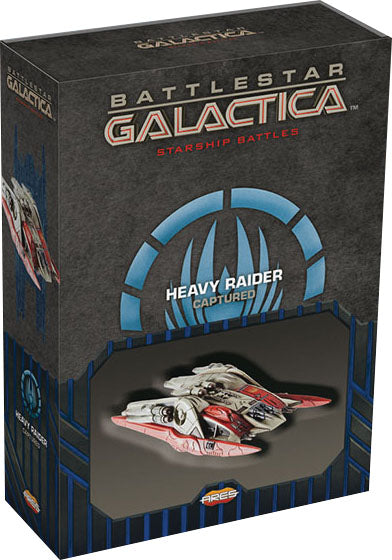 Battlestar Galactica: Starship Battles - Spaceship Pack - Cylon Heavy Raider (Captured) (Pre-Order)