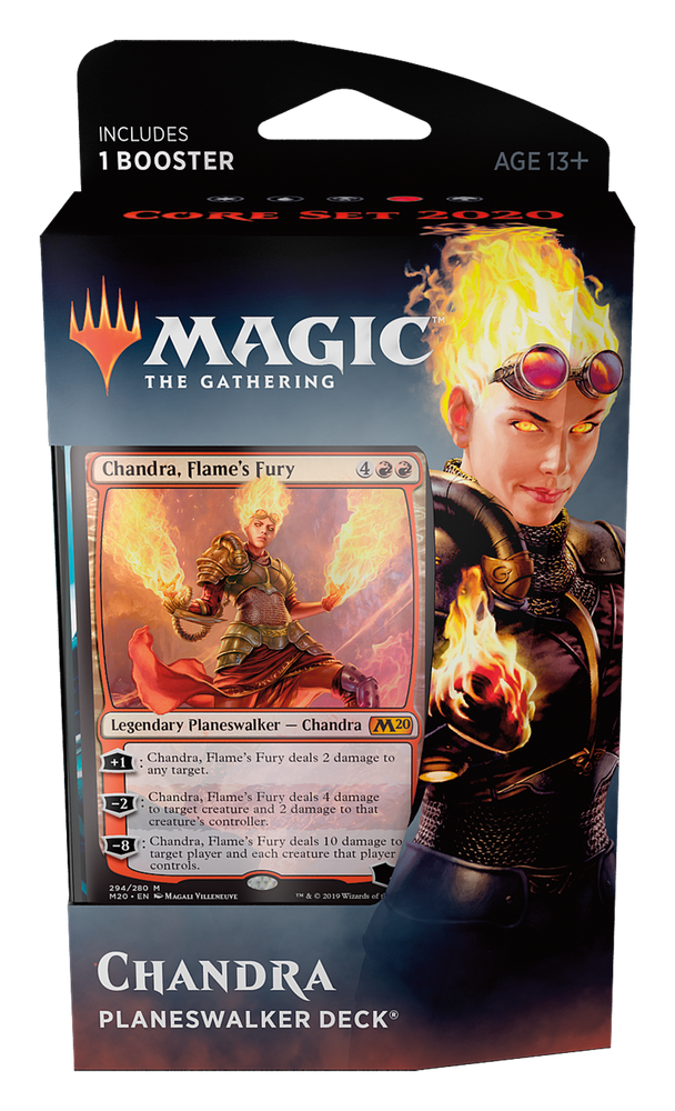 Magic the Gathering: Core 2020 Chandra Planeswalker Deck