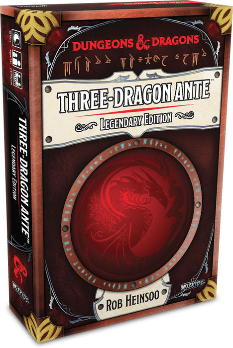 Dungeons and Dragons RPG: Three-Dragon Ante - Legendary Edition