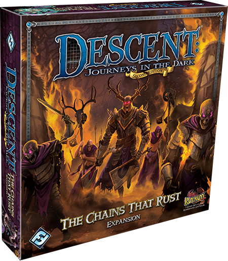 Descent Journeys in the Dark 2nd Edition - The Chains that Rust Expansion