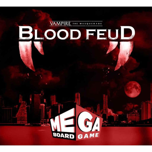 Vampire the Masquerade: Blood Fued - The Mega Board Game (Pre-Order)