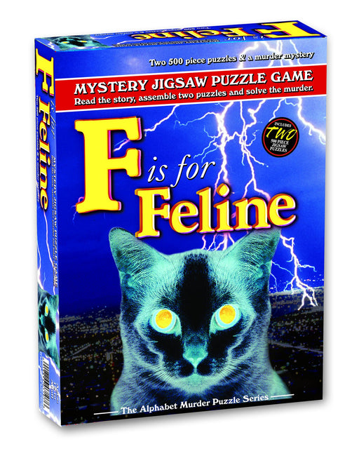 Mystery Jigsaw Puzzle Game – F is for Feline