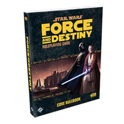 "Star Wars - ""Force And Destiny"" Rpg: Core Rulebook - Boardlandia"