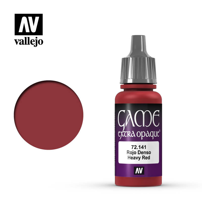 Game Extra Opaque: Heavy Red (17ml)
