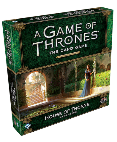 A Game of Thrones LCG -Second Edition - House of Thorns Expansion