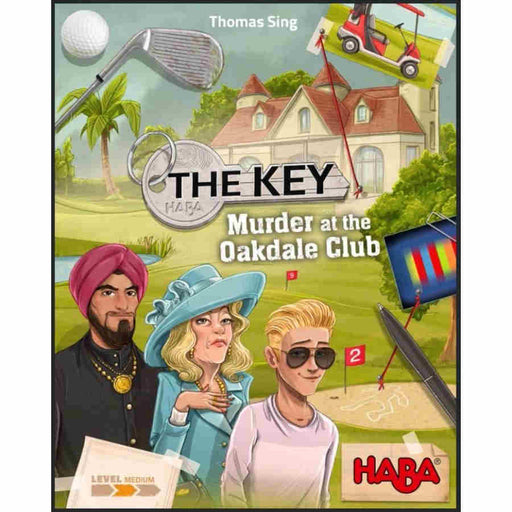The Key: Murder At the Oakdale Club (Pre-order)