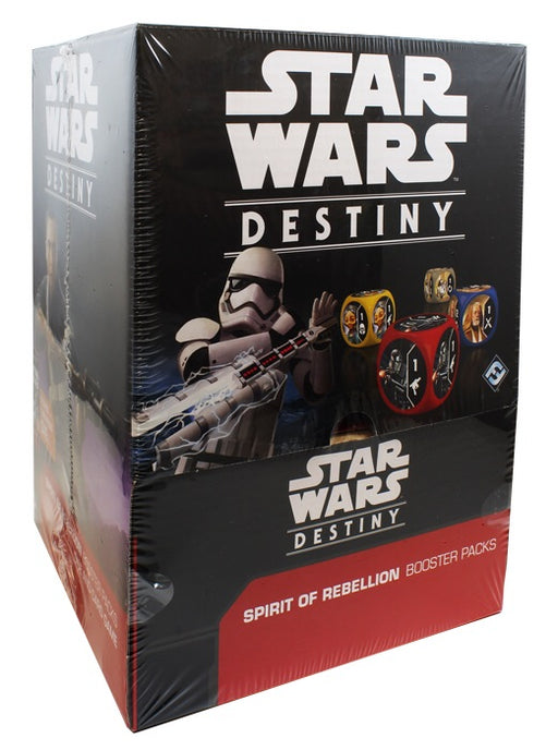 Star Wars Destiny - Spirit Of Rebellion Booster Box - Boardlandia