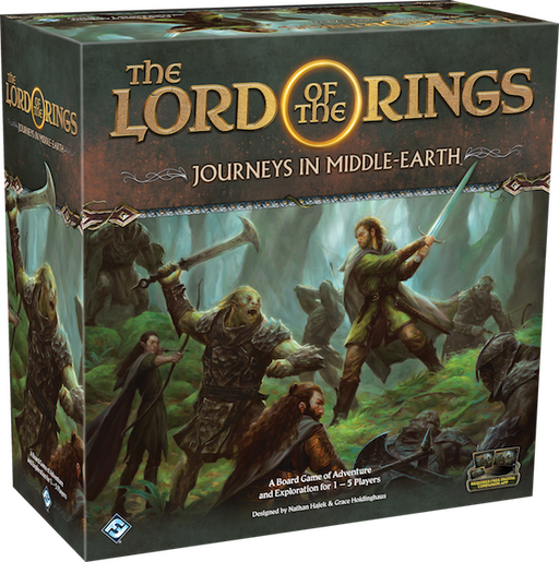 The Lord of the Rings - Journeys in Middle-earth