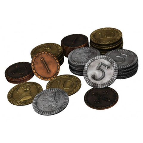 Clans of Caledonia: Coin Set