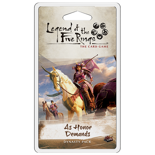 Legend of the Five Rings LCG: As Honor Demands (Pre-Order)
