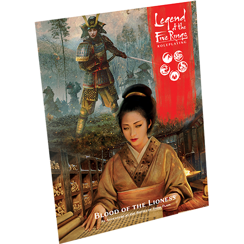 Legend of the Five Rings RPG: Blood of the Lioness (Pre-Order)