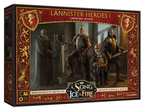A Song of Ice & Fire: Tabletop Miniatures Game: Lannister Heroes #1