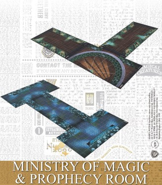 Harry Potter Miniatures Adventure Game - Ministry of Magic & Prophecy Room