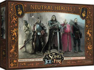 A Song of Ice & Fire: Tabletop Miniatures Game: Neutral Heroes #1