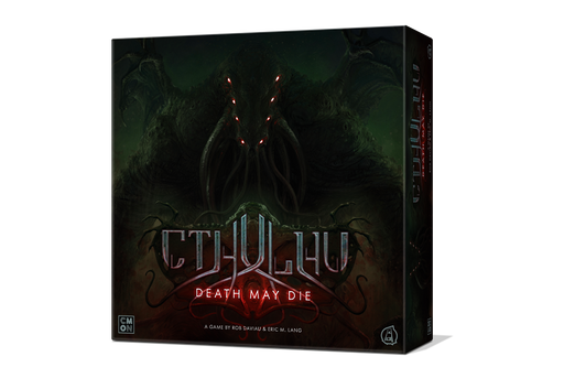 Cthulhu: Death May Die: Core Box (Kickstarter Edition) - Includes Unspeakable Box, Scarlett Figure, and Scarlett Figure Dashboard