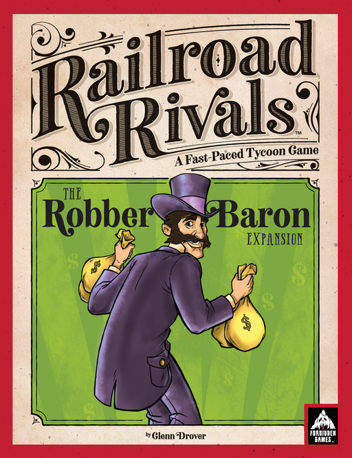 Railroad Rivals: Robber Baron Expansion (Pre-Order)