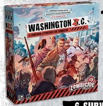 Zombicide - Second Edition - Washington Z.C. Expansion (Pre-Order)