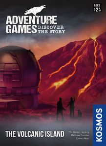 Adventure Games: The Volcanic Island (Pre-Order)