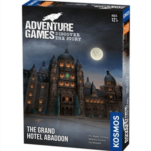 Adventure Games: The Grand Hotel Abaddon (Pre-Order)