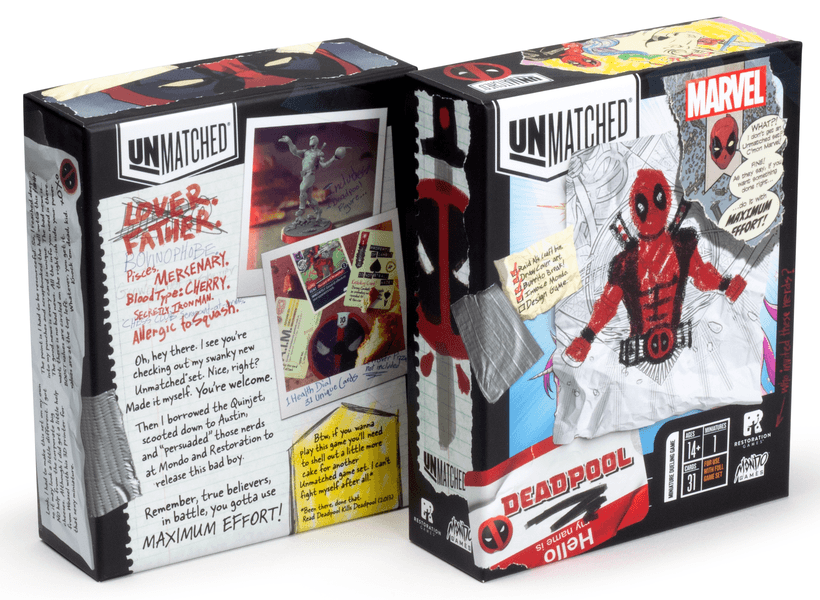 Unmatched - Deadpool (Pre-Order)