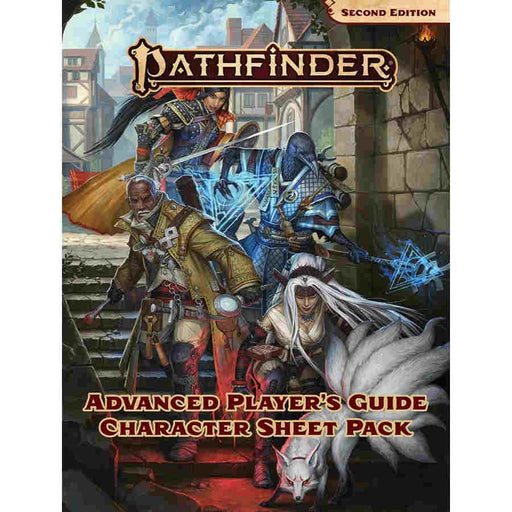 Pathfinder RPG (2E): Advanced Players Guide Character Sheet Pack