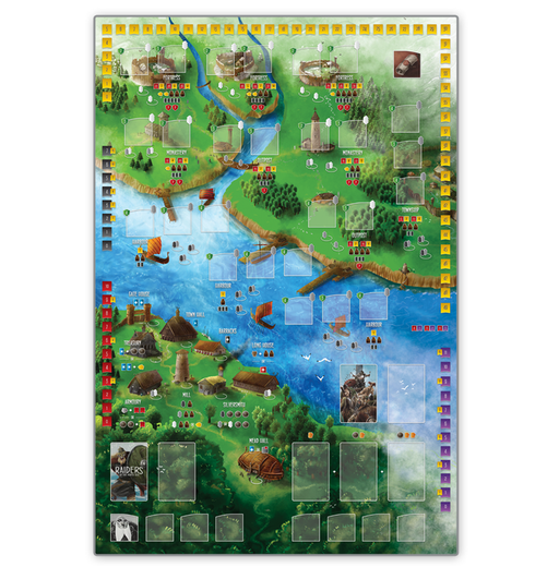 Raiders of the North Sea: Play Mat (Pre-Order)