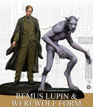 Harry Potter Miniatures Adventure Game - Remus Lupin & Werewolf Form