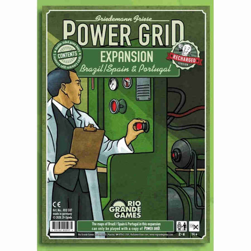 Power Grid: Recharged Brazil/Spain & Portugal Expansion (Pre-Order)