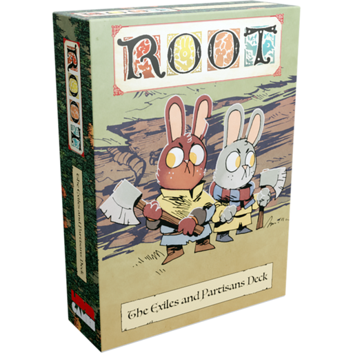 Root: The Exiles and Partisans Deck (Pre-Order)