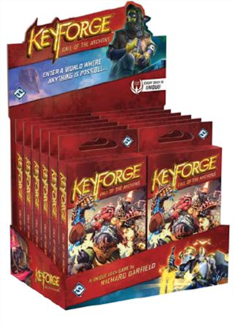 Keyforge - Call of the Archons - 12 Deck Display