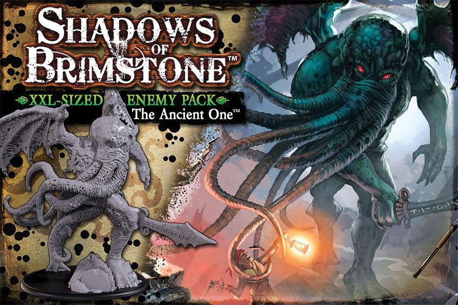 Shadows Of Brimstone: Ancient Old One- Xxl Enemy Pack