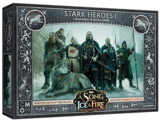 A Song of Ice & Fire: Tabletop Miniatures Game: Stark Heroes #1