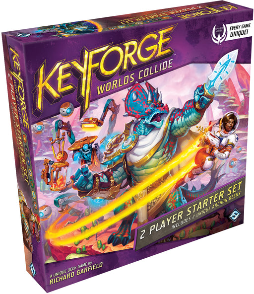 KeyForge: Worlds Collide Two-Player Starter Set (Pre-Order)