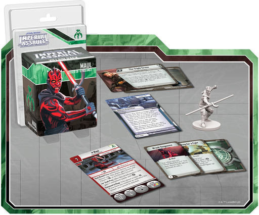 Star Wars Imperial Assault: Maul Villain Pack
