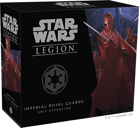 Star Wars Legion - Imperial Royal Guards Unit Expansion