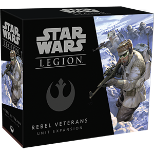 Star Wars: Legion - Rebel Veterans Unit Expansion (Pre-Order)