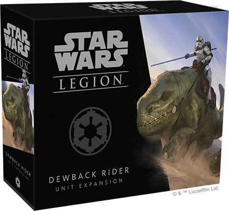 Star Wars: Legion - Dewback Rider Unit Expansion (Pre-Order)