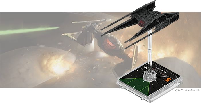 Star Wars X-Wing: 2nd Edition - TIE/vn Silencer Expansion Pack (Pre-Order)