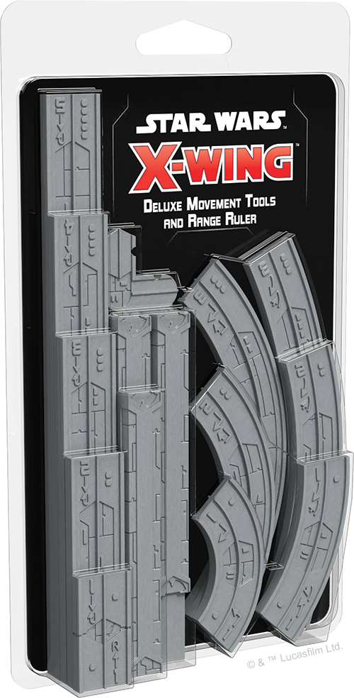 Star Wars X-Wing: 2nd Edition - Deluxe Movement Tools and Range Ruler (Pre-Order)
