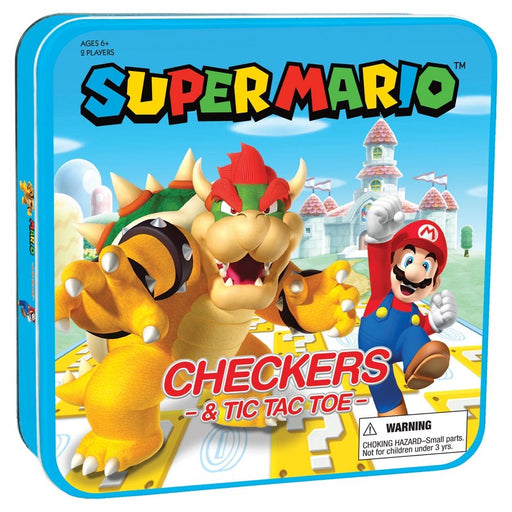 Super Mario Checkers and Tic-Tac-Toe