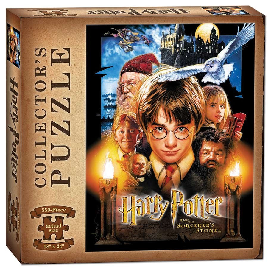 Puzzle: Harry Potter & Sorcerer's Stone (550 pc)