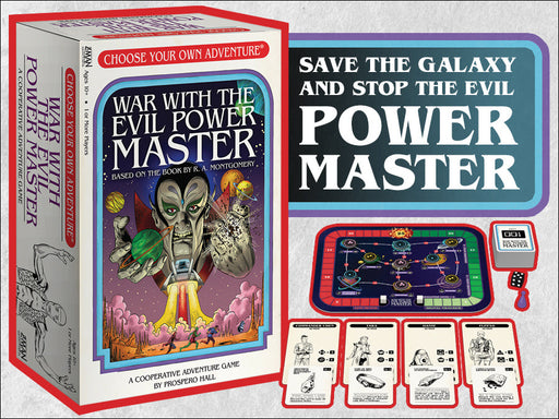 Choose Your Own Adventure: War with the Evil Power Master (Pre-Order)