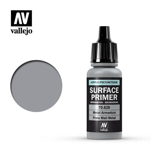 Auxiliary Products: Plate Mail Metal Primer (17ml)