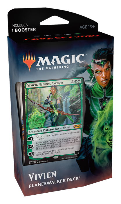 Magic the Gathering: Core 2020 Vivien Planeswalker Deck
